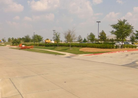 Clubhouse Entrance/Exit: Although there are no marked crossings here, it is common for both Golf Carts and other vehicles to pull onto Anthem Drive with very little warning.