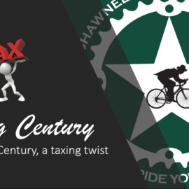 STCC Spring Century, a taxing twist
